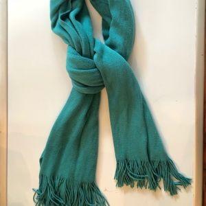 Blue-Teal Long Wrap Scarf